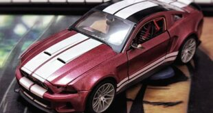 Model car tuning model vehicle miniature 7 310x165 Ford Mustang Shelby GT500 in 1:24 scale Tuning in miniature format.