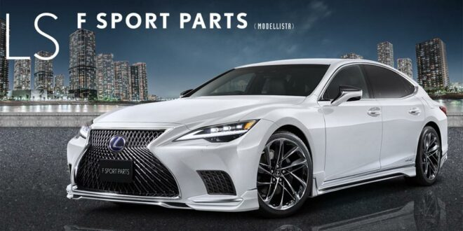 Modellista tuning parts for the new 2021 Lexus LS!