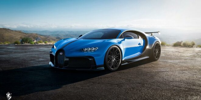 Premier Edition alloy wheels on the Bugatti Chiron Hypercar?