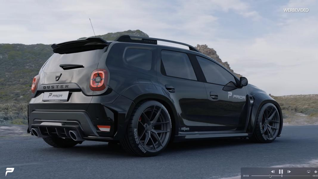 Prior Design Widebody Kit On The 2020 Dacia Duster Suv