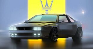 Project Rekall Maserati Shamal Restomod Garage Italia Customs Maserati 6 310x165 1967 Camaro Restomod as a high-tech retro athlete!
