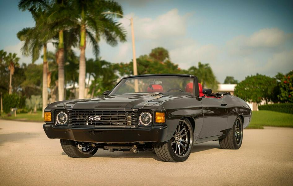 Restomod 1972er Chevrolet Chevelle Cabriolet mit V8 2 Restomod 1972er Chevrolet Chevelle Cabriolet mit V8!