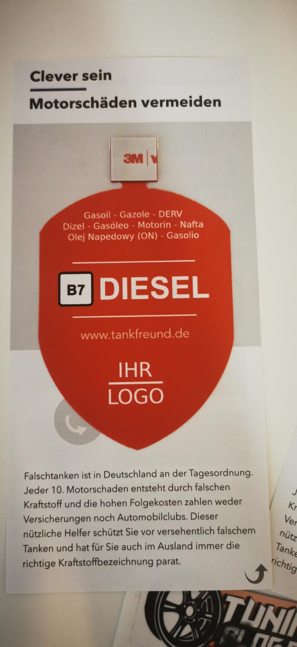 Tankfreund misfuelling protection Incorrect fueling 3 test report: Tankfreund for diesel & petrol vehicles!