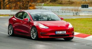 Unplugged Performance Tesla Model 3 Nordschleife 310x165 2 x Tesla Model 3 Modelle von Unplugged Performance!