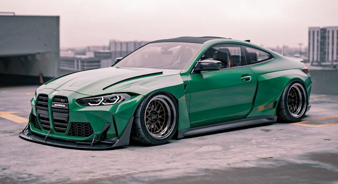 tuningblog Widebody 2021 BMW M4 Coupe G82 Brad Builds 1 e1604647931818 German Bunny Widebody 2021 BMW M4 Coupe (G82)!