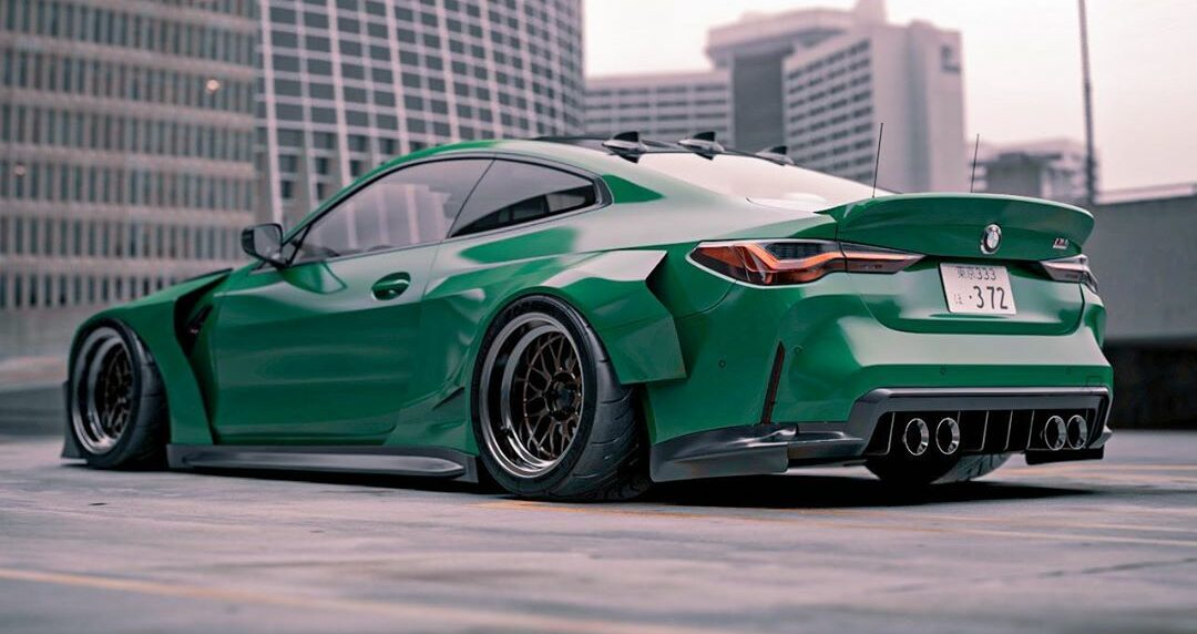tuningblog Widebody 2021 BMW M4 Coupe G82 Brad Builds 2 e1604647954322 German Bunny Widebody 2021 BMW M4 Coupe (G82)!