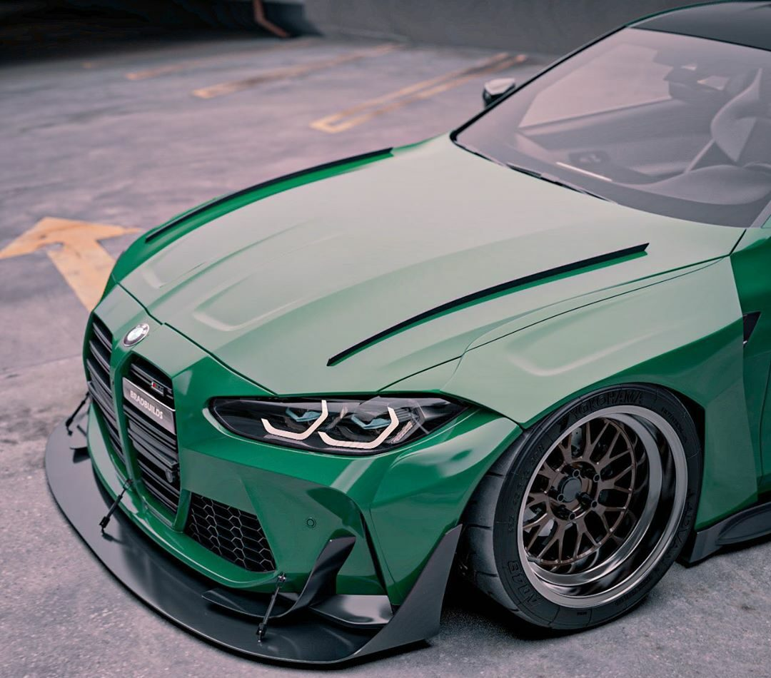 tuningblog Widebody 2021 BMW M4 Coupe G82 Brad Builds 4 e1604648032514 German Bunny Widebody 2021 BMW M4 Coupe (G82)!