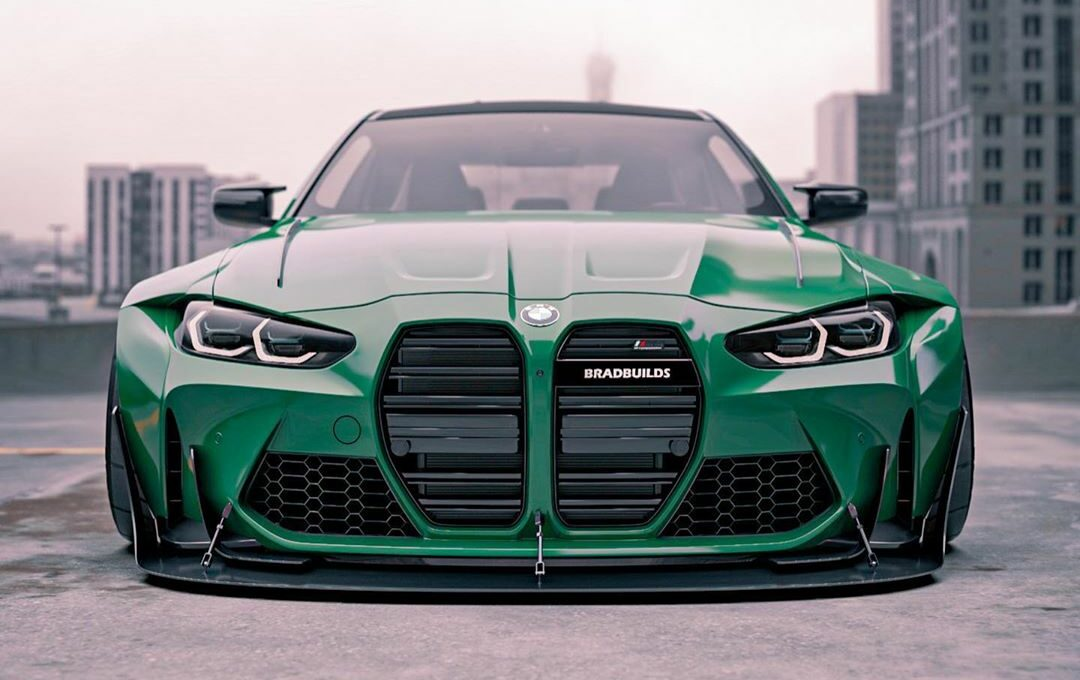 tuningblog Widebody 2021 BMW M4 Coupe G82 Brad Builds 7 e1604647903504 German Bunny Widebody 2021 BMW M4 Coupe (G82)!