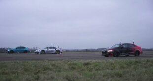 1.000 PS BMW M5 vs. 800 PS Audi RS3 vs. Porsche Turbo 1 310x165 Video: Drag Race   Tuning Dodge Viper vs. Ferrari F12!