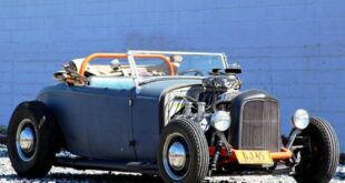 1932 Ford Deuce Roadster mit V8 Kompressor 24 310x165 Video: Akrapovic Sportauspuff am 2022 VW Golf R (MK8)