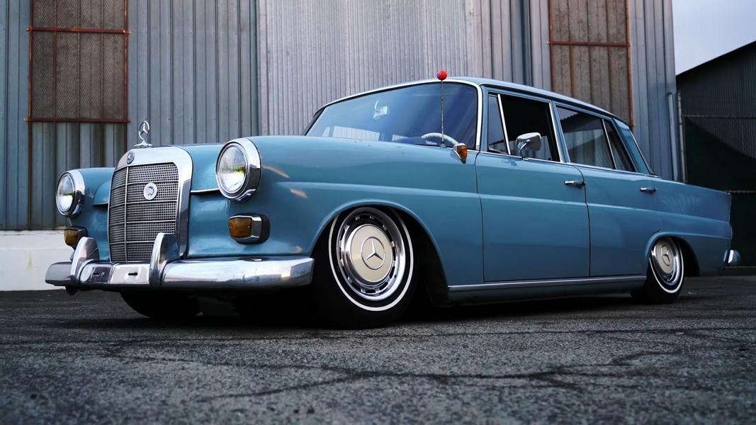 1965 Mercedes Benz W110 E30 BMW Motor Tuning 5 Video: 1965 Mercedes Benz W110 with E30 BMW Power!