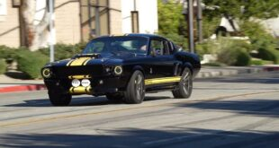 1968 Shelby GT500 Restomod Mustang 310x165 Video: Schwarz & Gelb am 1968 Shelby GT500 Restomod Mustang!