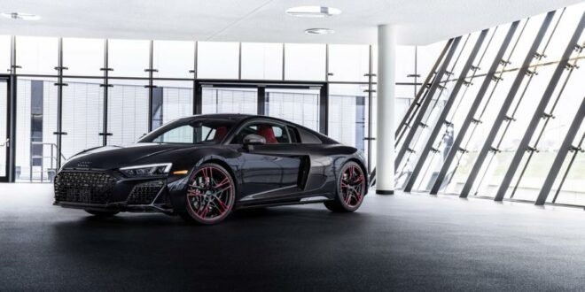 "2021 Audi R8 RWD V10 als Limited ""Panther Edition""!"