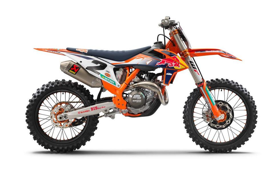 2021 KTM 450 SX F Factory Edition 3 2021 KTM 450 SX F Factory Edition with factory performance!