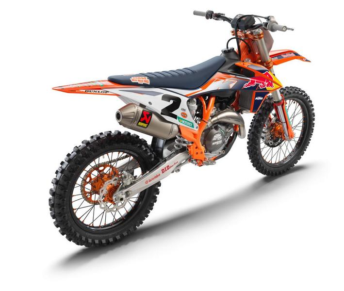 2021 KTM 450 SX F Factory Edition 5 2021 KTM 450 SX F Factory Edition with factory performance!