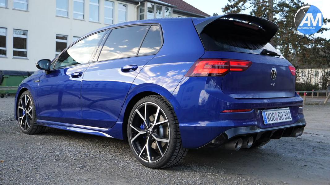 Akrapovic Sportauspuff am 2022 VW Golf R Video: Akrapovic Sportauspuff am 2022 VW Golf R (MK8)
