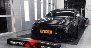 Audi A6L C8 full carbon widebody tuning header 310x165 Audi A6L with full carbon widebody kit and roof box!