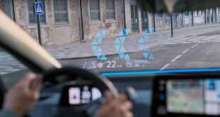 Augmented Reality Head Up Display 1 310x165 Augmented Reality Head Up Display von Volkswagen!