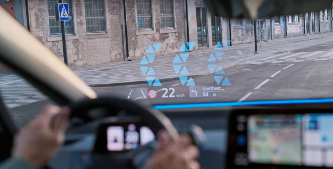 Augmented Reality Head Up Display 1 Augmented Reality Head Up Display von Volkswagen!