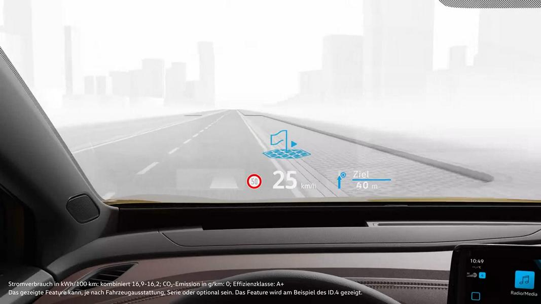 Augmented Reality Head Up Display 6 Augmented Reality Head Up Display von Volkswagen!