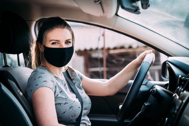 Driving Corona mask Driving in times of Corona What is still allowed?