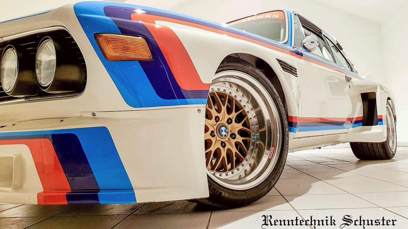 BMW 3.0 CSL E9 Group 5 Replika E34 M5 Triebwerk 2 BMW 3.0 CSL E9 Group 5 Replika mit E34 M5 Triebwerk!