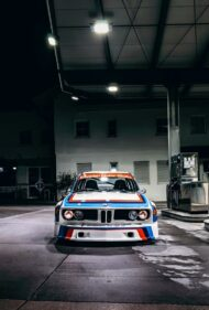 BMW 3.0 CSL E9 Group 5 Replika E34 M5 Triebwerk 5 190x281 BMW 3.0 CSL E9 Group 5 Replika mit E34 M5 Triebwerk!