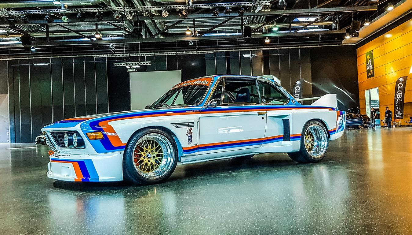 BMW 3.0 CSL E9 Group 5 Replika E34 M5 Triebwerk 9 BMW 3.0 CSL E9 Group 5 Replika mit E34 M5 Triebwerk!