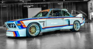 BMW 3.0 CSL E9 Group 5 Replika E34 M5 Triebwerk Header 310x165 BMW 3.0 CSL E9 Group 5 Replika mit E34 M5 Triebwerk!