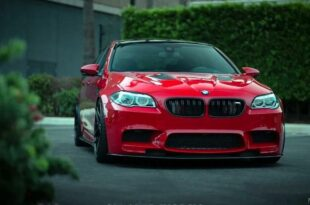 BMW M5 F10 Tuning Header 310x205 Red BMW M5 (F10) with extensive modifications!