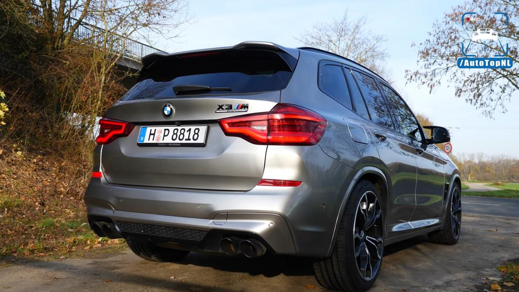 BMW X3 M Competition BK Performance Video: 757 PS BMW X3 M Competition from BK Performance!