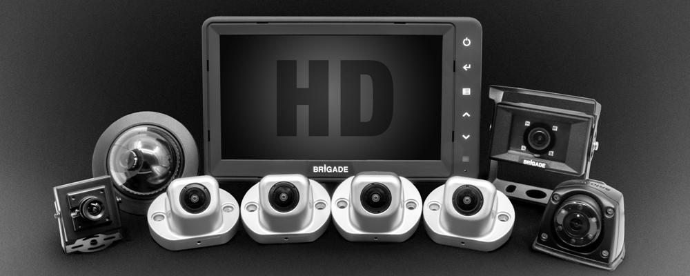 BW HD21 vehicle surveillance cameras in standard definition or high definition?