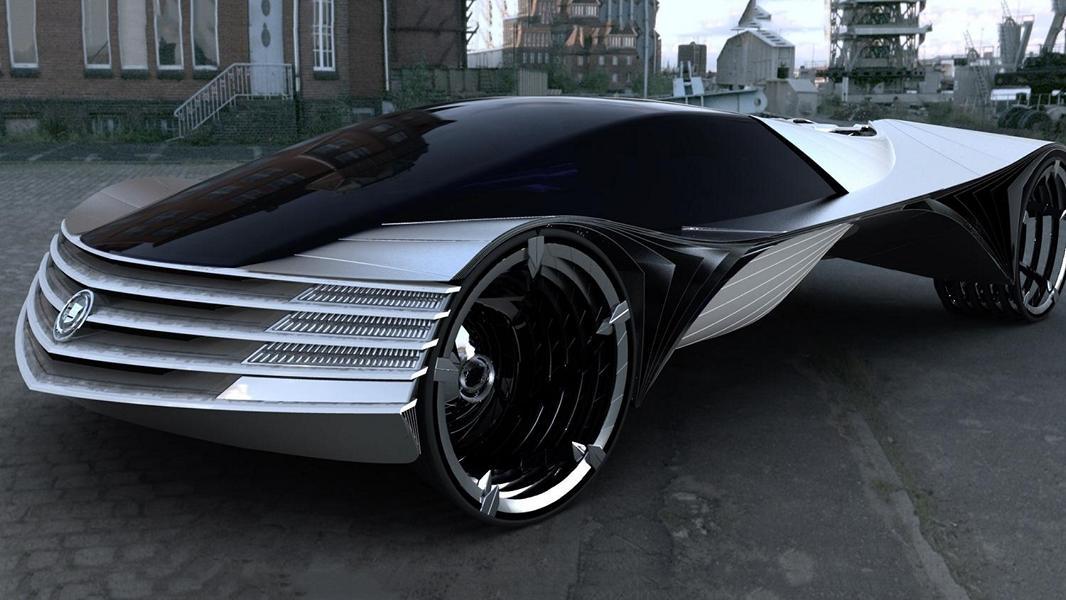 Cadillac World Thorium Fuel WTF Konzept Studie Nur eine Vision? 8 Gramm Thorium für 100 Jahre Autofahren!