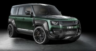 Carlex Design Widebody Land Rover Defender L663 Racing Green 4 310x165 Carlex Design baut den breitesten Land Rover Defender!