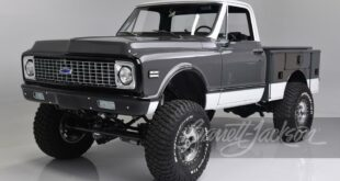 Chevrolet K10 Pickup Restomod 37 Zoll Offroad Reifen Header 310x165 Schön? 2004 Chevrolet Corvette Nomad Shooting Brake!