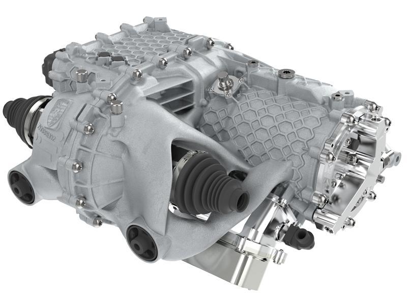 E Antrieb Gehaeuse 3D Drucker Porsche 3 E Antrieb Gehäuse aus dem 3D Drucker von Porsche!