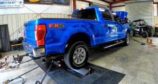 Godzilla V8 with tuning in the Ford F 250 Super Duty 310x165 Video: Godzilla V8 with tuning in the Ford F 250 Super Duty!