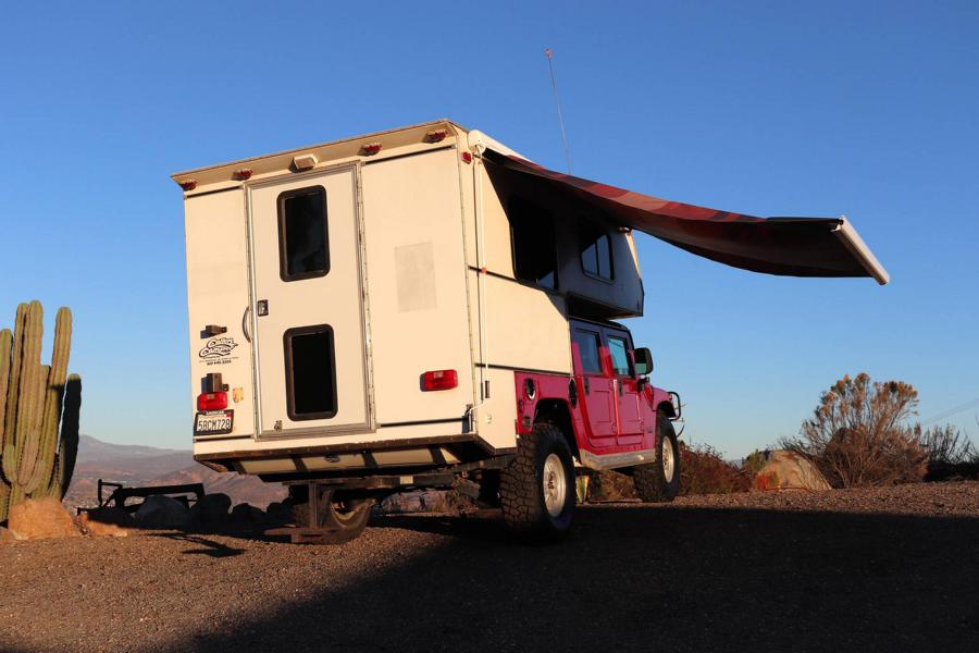 Hummer H1 Callen Campers body 12 Hummer H1 with Callen Campers body for sale!