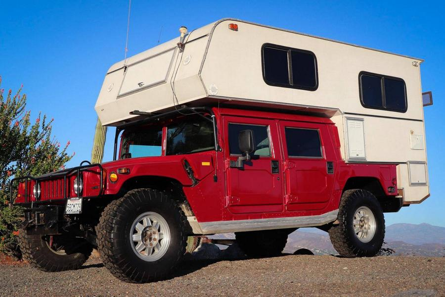 Hummer H1 Callen Campers body 15 Hummer H1 with Callen Campers body for sale!