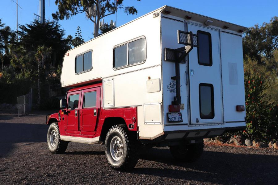 Hummer H1 Callen Campers body 8 Hummer H1 with Callen Campers body for sale!