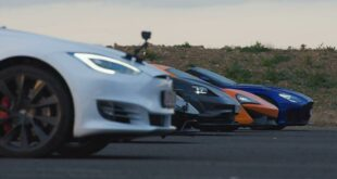 Huracan Taycan Model S DBS 540C 310x165 Video: Drag Race   Huracan, Taycan, Model S, DBS, 540C!