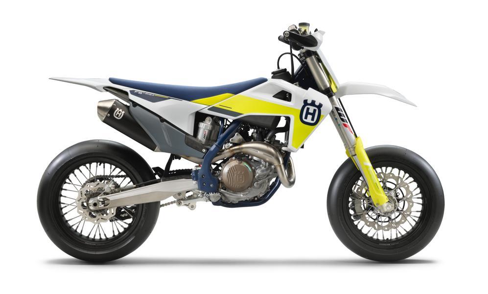 Husqvarna FS 450 Modelljahr 2021 5 Husqvarna FS 450   neue Supermoto für das Jahr 2021!