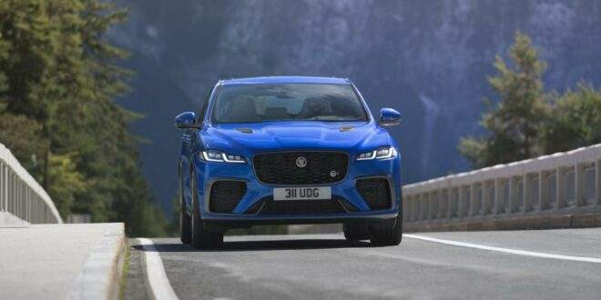 New Jaguar F-Pace SVR is faster and even more powerful!