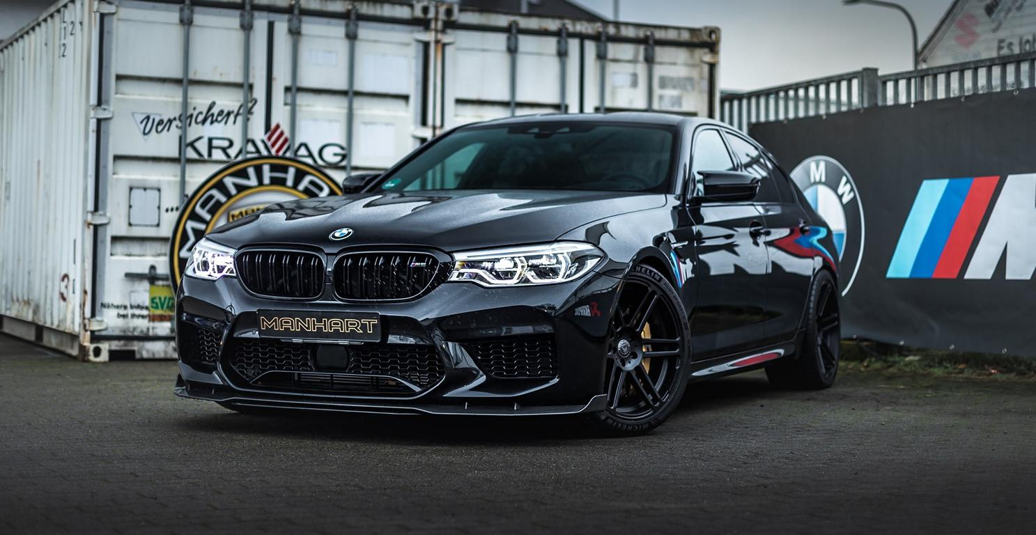 Manhart MH5 800 Black Edition BMW F90 M5 Header Manhart MH5 800 Black Edition BMW F90 M5 mit 823 PS