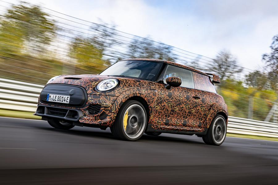 Mini John Cooper Works E 2 In progress: Mini John Cooper Works models with E drive!