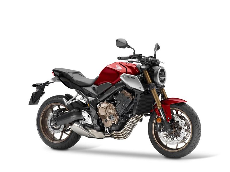 Model update 2021 Honda CB650R 1 Model update 2021 Honda CB650R new fork and Euro 5!