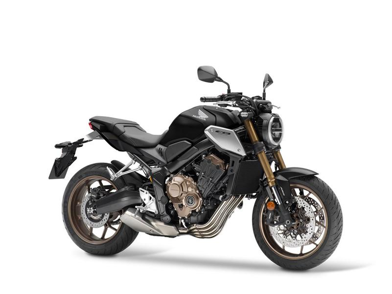 Model update 2021 Honda CB650R 4 Model update 2021 Honda CB650R new fork and Euro 5!