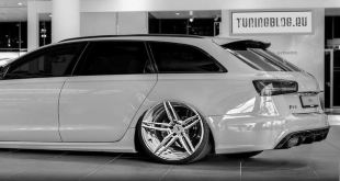 New RS6 Clean Tuning ADV.1 Wheels Alufelgen Black Line 1