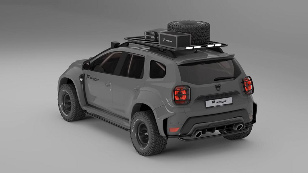 First Down Now Up Widebody Dacia Duster By Prior Design