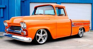 Restomod 1958 Chevrolet Cameo Flame Optics Tuning 12 310x165 Unmistakable: 1958 Chevrolet Cameo with flame optics!
